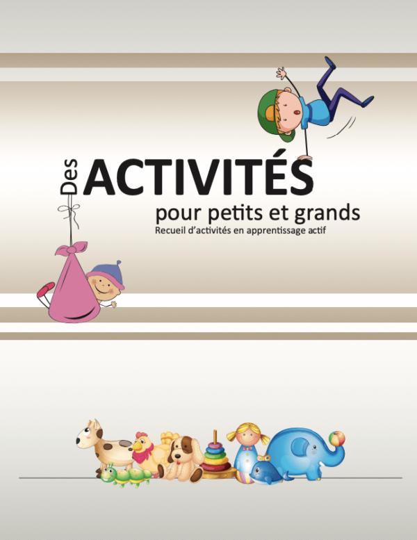 Image Des activités pour petits et grands Recueil d'activités en apprentissage actif-min