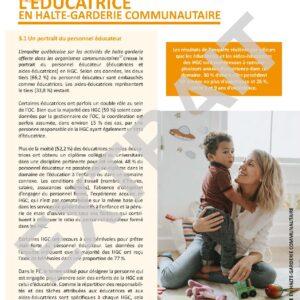 Programme éducatif Je grandis-garderie communautaire – site 17